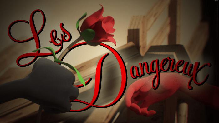 Les Dangereux - A ninja love story Cover