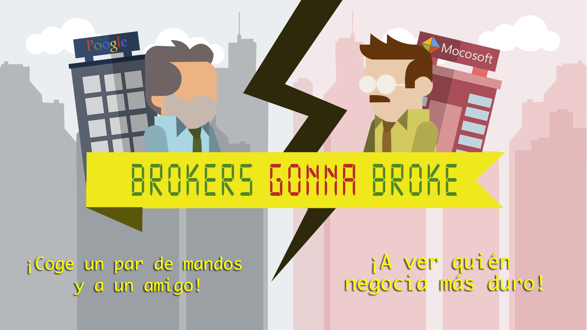 Brokers Gonna Broke Cover