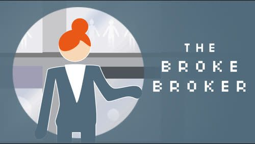The Broke Broker Cover