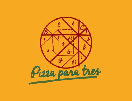 Pizza para tres