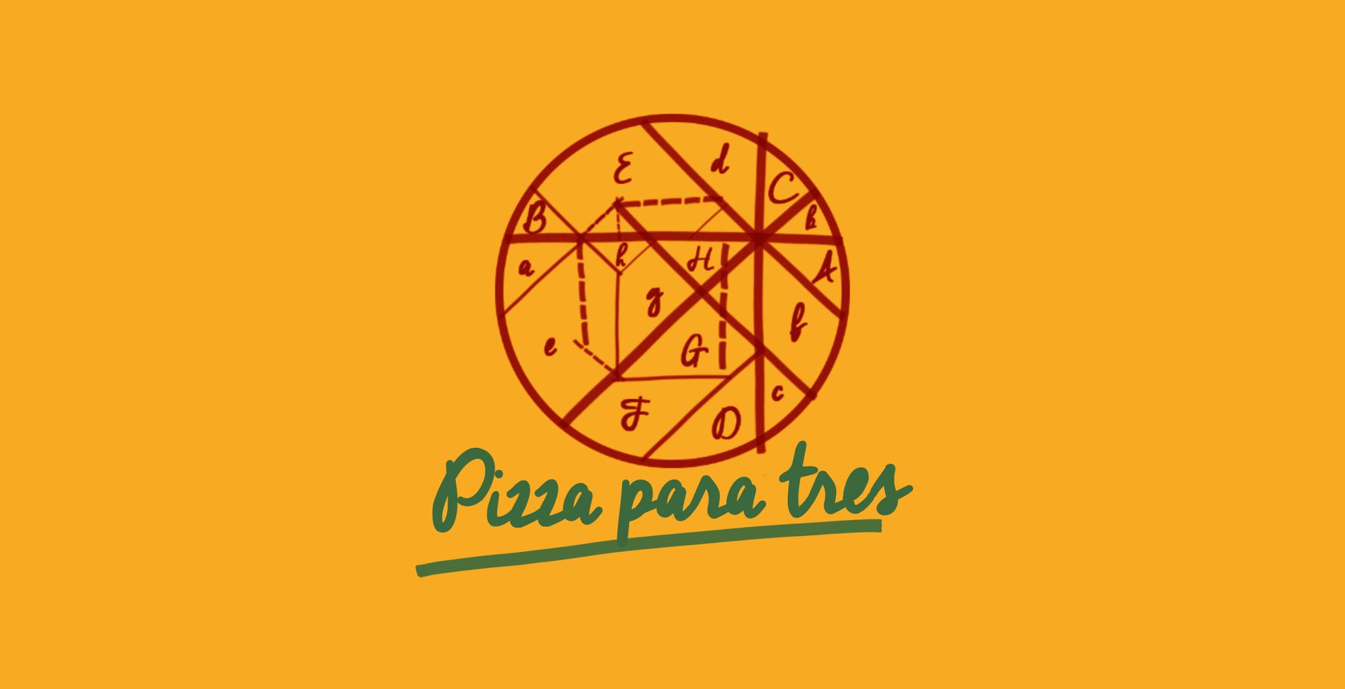 Pizza para tres Cover 2