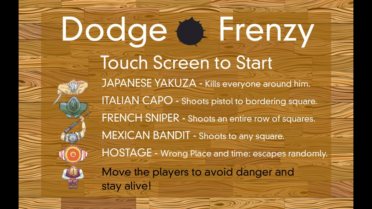 Dodge Frenzy Frame 2
