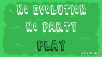 No Evolution No Party Cover