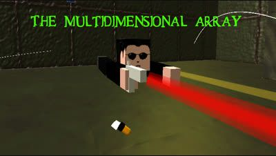 The Multidimensional Array